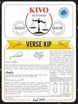 KIVO | Verse Kip - tarwevrij - geperst | 15 kg