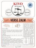 KIVO | Verse Zalm - graanvrij - geperst | 15 kg_