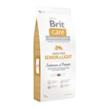 BRIT CARE | Senior & Light Salmon & Potato | 12 kg_