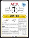 KIVO | Verse Kip - tarwevrij - geperst | 15 kg_