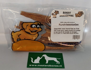 BANDIT | Rundvleesstaafjes | 100 gram