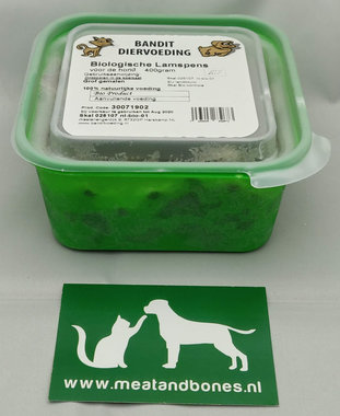 BANDIT | BIO - LAMSPENS gemalen | 400 gram