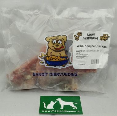 BANDIT | Wild konijnkarkas | per stuk