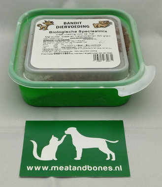 BANDIT | BIO - SPECIAALMIX KAT (blaas, nier, suiker) | 21 x 300 gram