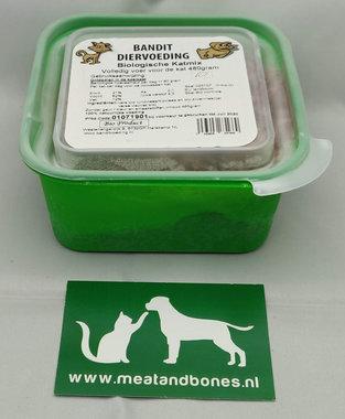 BANDIT | Biologische vleesmix kat | 480 gram