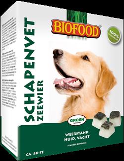 BIOFOOD | Schapenvet  - ZEEWIER | 40 stuks