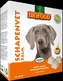 BIOFOOD | Schapenvet ZALM | 40 stuks