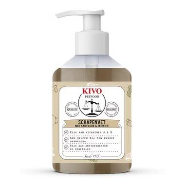 KIVO | Vloeibaar schapenvet met knoflook & zee | 500 ml