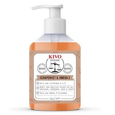 KIVO | Vloeibaar schapenvet & omega 3 | 500 ml