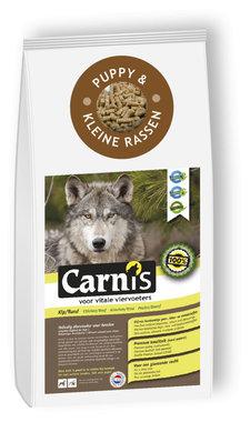 CARNIS | Brok geperst KIP/RUND (puppy & kleine rassen) | 5 kg