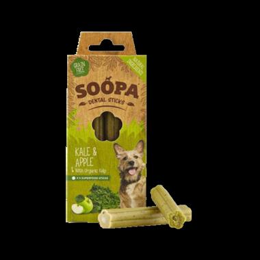 SOOPA | Dental sticks | Boerenkool & Appel | 4 stuks