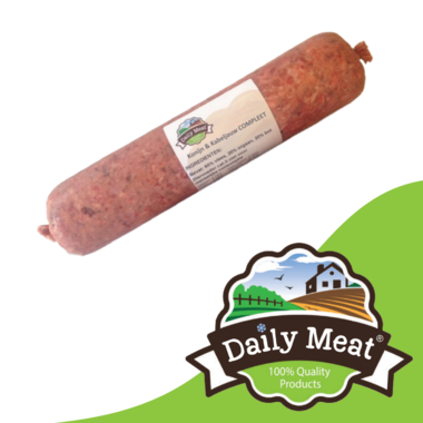 DAILY MEAT | Konijn & Kabeljauw COMPLEET | 1000 gram
