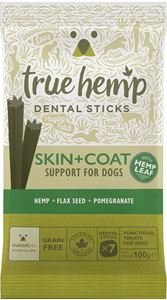 TRUE HEMP | Skin & Coat (met kip) - graanvrij | 7 sticks = 100 gram