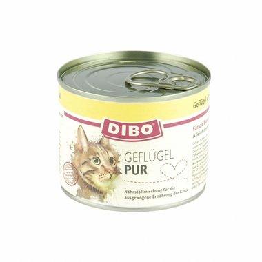 DIBO | Gevogelte Puur met kattenkruid en zalmolie | 200 gram