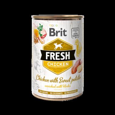 BRIT | Fresh Chicken with Sweet Potato | 400 gr