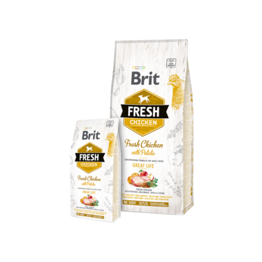 BRIT | Fresh Chicken with Potato Adult Great Life | 12 kg