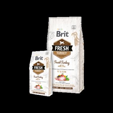 BRIT | Fresh Turkey with Pea Light Fit & Slim 2,5 kg