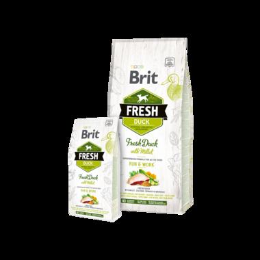 BRIT | Fresh Duck with Millet Active Run & Work | 12 kg