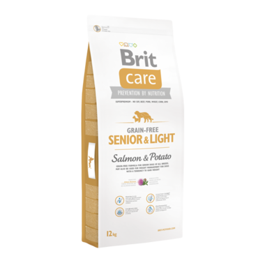 BRIT CARE | Senior & Light Salmon & Potato | 12 kg