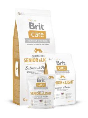 BRIT CARE | Senior & Light Salmon & Potato | 3 kg