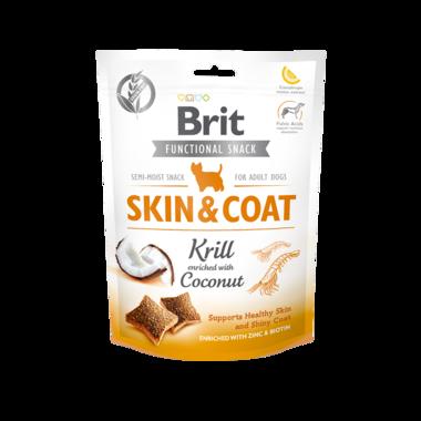 BRIT CARE | Graanvrije functional snack: Skin & Coat (krill) | 150 gram
