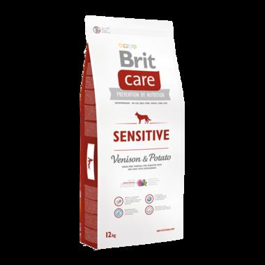 BRIT CARE | SENSITIVE (Hert/Aardappel) Hypoallergeen | 12 kg