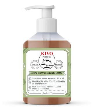 KIVO | Sardineolie met Groenlipmossel & Haaienkraakbeen