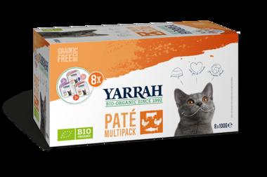 YARRAH | Pate multipack KAT | 8 x 100 gram