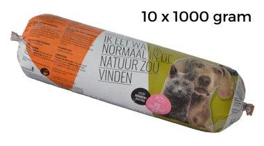 CARNIVOER | VIS-Mix HOND + KAT | 10 x 1000 gram