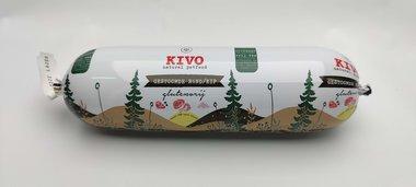 KIVO | Lang houdbaar - gestoomd RUND & KIP | 600 gram