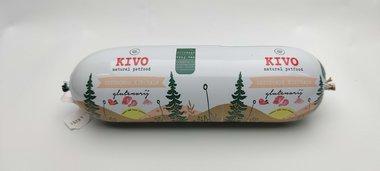 KIVO | Lang houdbaar - gestoomd KIP & ZALM | 600 gram