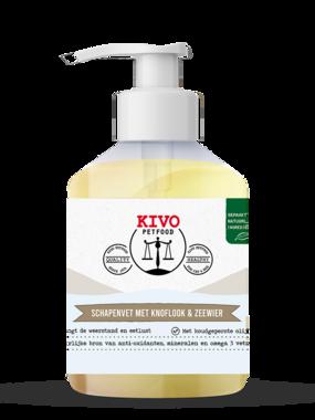 KIVO | Vloeibaar schapenvet met knoflook & zeewier | 500 ml