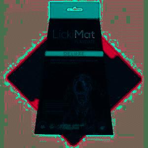 LICKIMAT | Deluxe Rood | per stuk