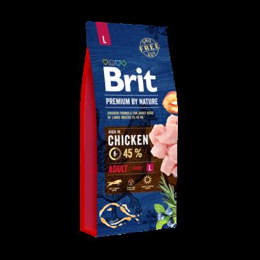 BRIT | Premium by nature Adult L (25-45 KG) | 15 kg