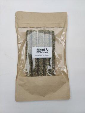 M&B |  Zalm-sticks ca. 15 cm per stuk | per 5 stuks