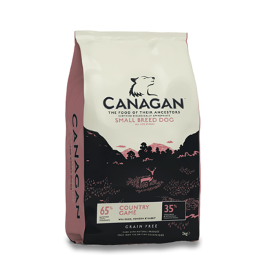 CANAGAN | Country Game (kleine hond) 6 kg