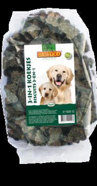 BIOFOOD | 3 in 1 koekjes | 500 gram