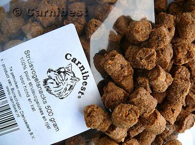 CARNIBEST | Struisvogelsnack | 500 gram