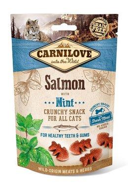 CARNILOVE CAT | Crunchy Snack Zalm met munt | 50 gram