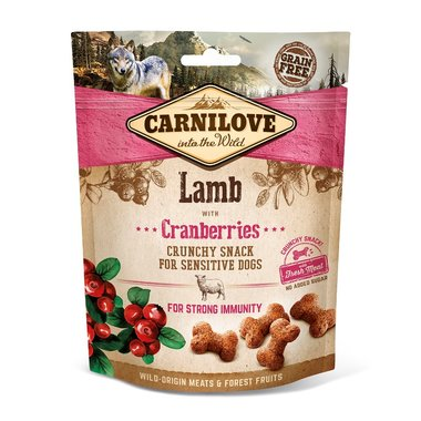 CARNILOVE DOG | Crunchy Snack Lam met veenbessen | 200 gram