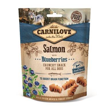 CARNILOVE DOG | Crunchy Snack Zalm met bosbessen |  200 gram