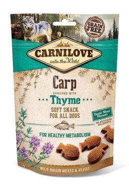 CARNILOVE DOG | Soft Snack Karper met tijm | 200 gram