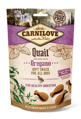 CARNILOVE DOG | Soft Snack Kwartel met Oregano | 200 gram