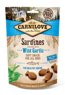 CARNILOVE DOG | Soft Snack Sardines met knoflook | 200 gram