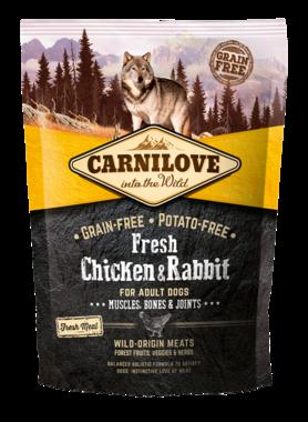 CARNILOVE DOG | Fresh kip & konijn | 1,5 KG