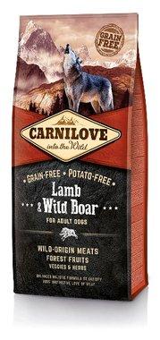 CARNILOVE DOG | Lam & Wild Zwijn (adult) | 12 KG