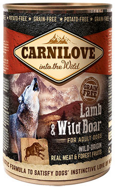 CARNILOVE DOG | Lam & Wild Zwijn (adult) | 400 gram