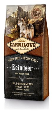 CARNILOVE DOG | Rendier (adult) | 12 KG