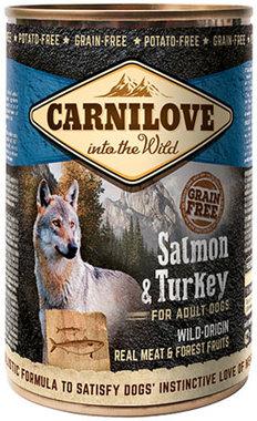 CARNILOVE DOG | Zalm & Kalkoen (adult) | 400 gram