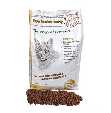 CAT LOVERS GOLD | Original Formula | 5 kg